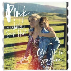 P!nk(ピンク)、コロナ終息と世界平和の願いを込め、愛娘ウィローとのデュエット曲「Cover Me In Sunshine」(新曲)を公開!!
