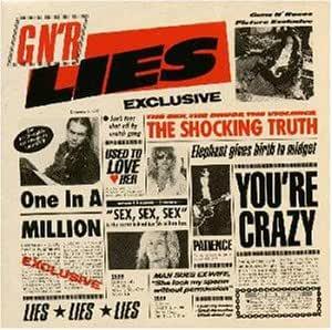 GUNS  N' ROSES ガンズ・アンド・ローゼス 『GN' R LIES / GN'R ライズ』(1988年)