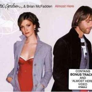 Delta Goodrem デルタ・グッドレム & Brian McFadden ブライアン・マックファーデン『Almost Here』[Single CD](2005年)