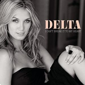 Delta Goodrem デルタ・グッドレム 『I Can't Break It To My Heart』[CD Single](2008年)