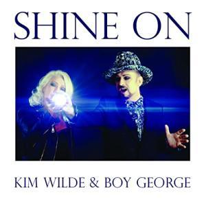 Kim Wilde(キム・ワイルド)&Boy George(ボーイ・ジョージ)のデュエット曲「Shine On」公開!!