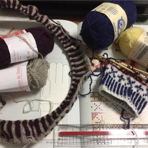 ゴム編み砂漠