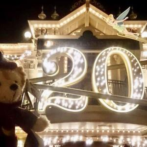 Disneyland parisオープン記念日(12/04/1992)