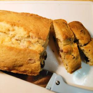 レーズンとナッツのパウンドケーキ
