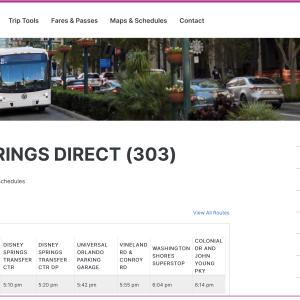 【WDWのホテルからユニバーサルスタジオフロリダに一番安く行く方法】オーランドの路線バス・リンクスについて