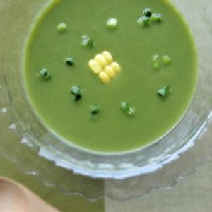 ニラの冷製スープ