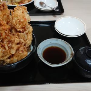 南幌温泉とキャベツ天丼