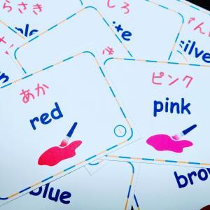 単語学習頑張っています! 南相馬市の絵本とねこの英語教室