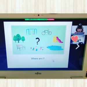 はじめてのオンラインレッスン☆ 南相馬市とオンラインの絵本とねこの英語教室