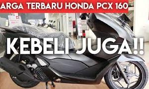 Harga Terbaru Honda PCX 160 Duduk Santai Motor Langsung Datang