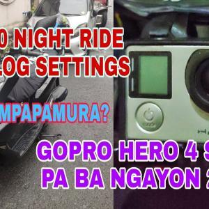 HONDA PCX 160 || GOPRO HERO 4 IN 2021 || STILL WORTH TO BUY? || NIGHT RIDE SETTINGS