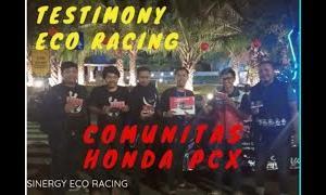 Testimoni Eco Racing Pada Honda PCX – 0881026054920