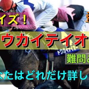 クイズ!トウカイテイオー〈難問あり〉【競馬】