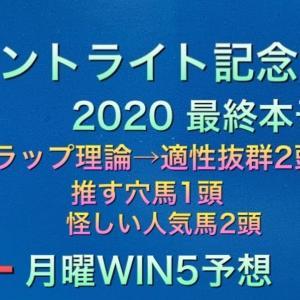 【競馬予想】 セントライト記念 2020 本予想 WIN5 予想 JRAアニバーサリーステークス ブエナビスタカップ テイエムオペラオーカップ 浦安特別