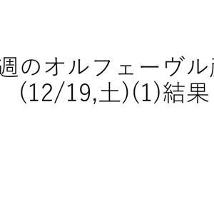 今週のオルフェーヴル産駒(2020/12/19,土)レース回顧(1)