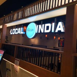 独自にローカライズされたインド料理ランチ。「ローカルインディア 調布パルコ店」(調布)