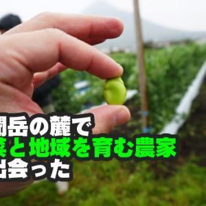 【南九州食材の旅~ユーファーム~】開聞岳の麓に有機野菜と家を作る元商社マンに出会った!