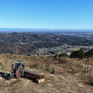 埼玉県・弓立山 [20/01/02] ~お気軽ハイキングコース~