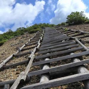 群馬県・三国峠・三国山 [19/08/25] ~長い階段の先に待っているのは、絶景の山頂と幸福の鐘~