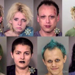 アメリカで逮捕された極左テロ集団ANTIFAメンバーの顔がヤバイと話題にw 海外の反応。