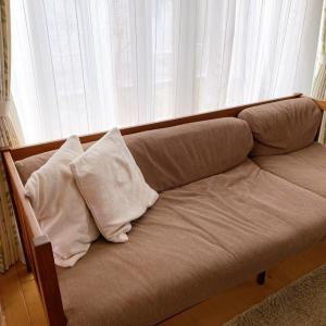 寝心地最高なソファー(笑)