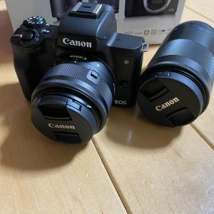 Canon EOS Kiss M 購入しちゃいました!