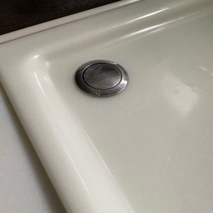浴室のポップアップ水栓修理!!