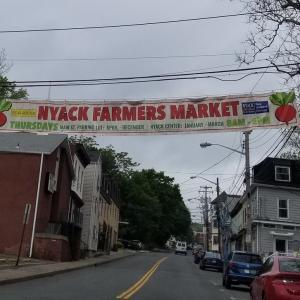 久々のNyackファーマーズマーケット