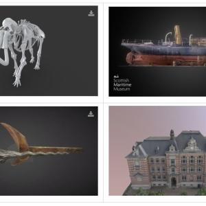 文化遺産の3Dモデル約1700種がSketchfabで無料公開!(商用利用もOK)【ゲーム素材】