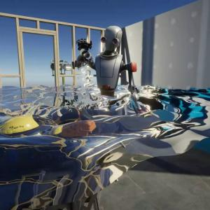 3Dで波の動きや水のしぶきを表現 Simple Interactive Water for URP VR【Unity】【アセット】【VR】