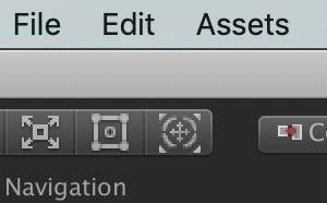 Unityの左上のメニュー(Hand Tool?)が目の形で固定された時はScene Viewをロックして戻せば直る【Unity】【トラブルシューティング】