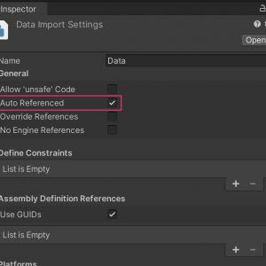 Assembly Definition Filesを使ってるのにコンパイル時間が早くならない場合の対処法【Unity】【Assembly Definition Files】