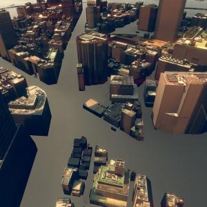 商用可能な東京23区の3Dモデルが無料で使えるPLATEAU(プラトー)をVR(Unity)で試してみた【Unity】【VR】【アセット】