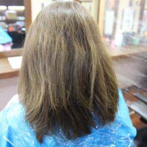 髪質改善ヘアカラー