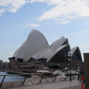 初の海外オーストラリア....