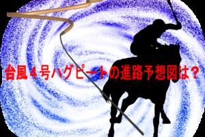 台風4号ハグピート2020の米軍ヨーロッパの進路予想図は日本へ!