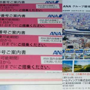 【3月優待到着】ANAホールディングス【9202】
