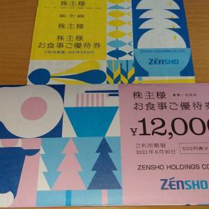 【9月優待到着】ゼンショーホールディングス【7550】