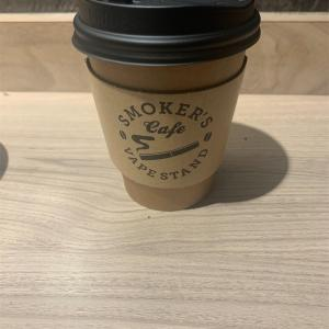 「VAPE STAND SMOKER'S CAFE」〜カフェ巡り13店舗目〜