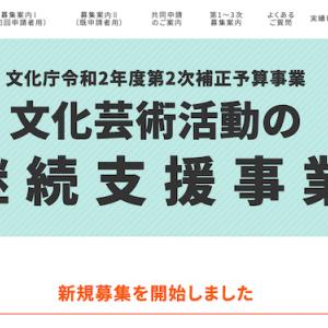 オンラインDIVEラボ「文化庁のん、申請できるかな FINAL」