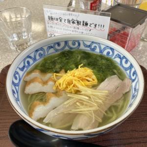 宮古島は荷川取「みなと食堂」磯の香り漂う「アーサそば」に「アーサごはん」が美味い!