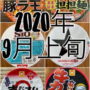 2020年 9月上旬に買った「沖縄ファミリーマート」にあった「カップ麺」6種中のランキング!♩