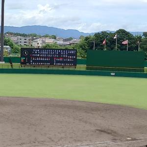高校野球大阪地方大会、上宮太子vs藤井寺