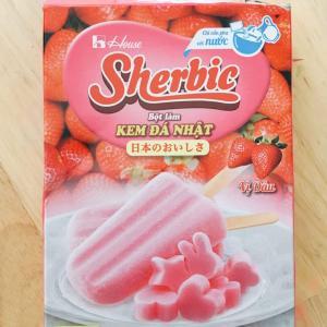 ホーチミンにも売ってる「シャービック」でひんやりデザート作り