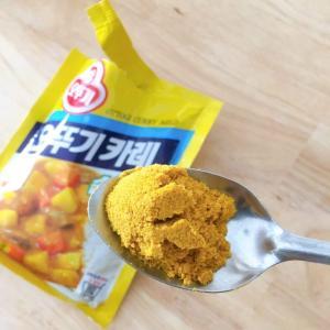 お手頃カレー粉。ホーチミンで韓国カレー作り「OTTOGI CURRY」