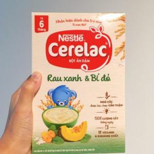 ホーチミンでの育児に便利な粉末ベビーフードNestle「Cerelac」