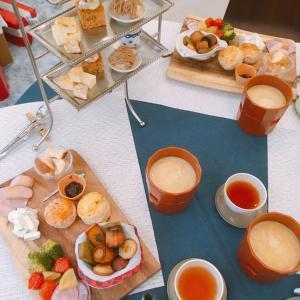 とろとろチーズフォンデュが嬉しい♪季節ごとに楽しめるホーチミンのアフタヌーンティカフェ「Trung cafe &dessert」