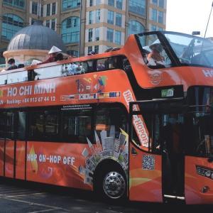 二階建て観光バス「Hop on – Hop off(ホップオンホップオフ)」で手軽にホーチミン市内観光♪