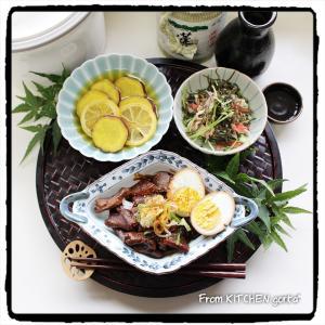 名古屋風どて煮♬de和御膳プレートごはん