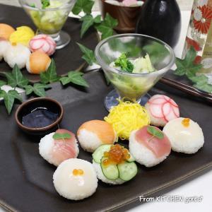 初挑戦★てまり寿司とお洒落過ぎるマリネ♬